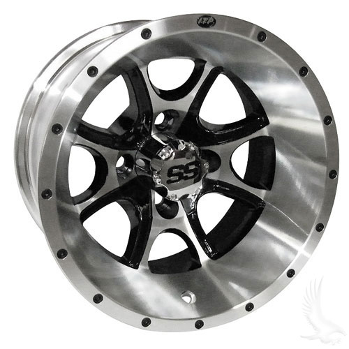 ITP SS108, Machined w/ Center Cap, 12x7