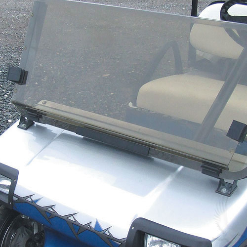 Two Piece Split Windshields Golf Cart Parts Accessories Cart