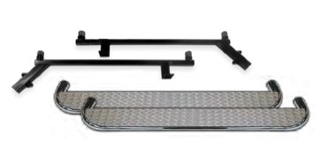 CLUB CAR PRECEDENT INLAY NERF BARS - STAINLESS