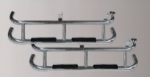 CLUB CAR DS ELITE NERF BARS - STAINLESS
