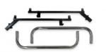 CLUB CAR PRECEDENT STANDARD NERF BARS - STAINLESS